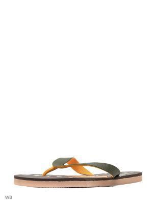 Шлепанцы Effa. Цвет: коричневый