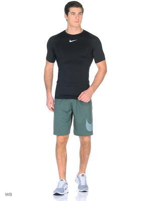 Шорты M NK DRY SHORT EMBOSS Nike. Цвет: зеленый