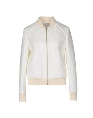 Куртка MESSAGERIE. Цвет: белый