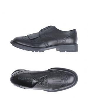 Обувь на шнурках BOEMOS. Цвет: черный