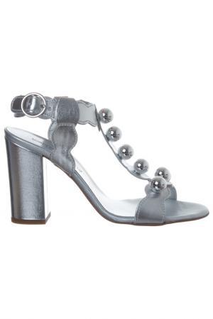 Босоножки Loretta Pettinari. Цвет: silver