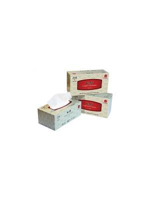 Блок из 3 упаковок бумажных салфеток серии Kabi, 2 слоя, по 250 шт., FT371/1 Maneki. Цвет: белый