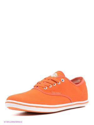 Кеды EDITEX. Цвет: оранжевый