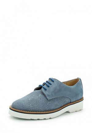 Ботинки La Coleccion. Цвет: голубой