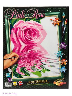 Розовая роза Schipper. Цвет: розовый, темно-зеленый