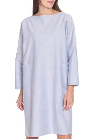 Платье Marni. Цвет: голубой
