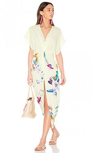Платье-накидка pelican 6 SHORE ROAD. Цвет: желтый