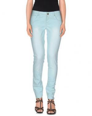 Джинсовые брюки CUSTO GROWING. Цвет: небесно-голубой