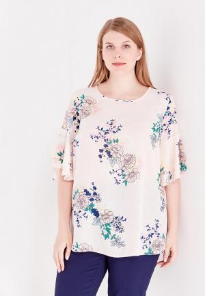 Блуза Dorothy Perkins Curve. Цвет: розовый