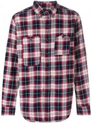 Рубашка в клетку Engineered Garments. Цвет: многоцветный