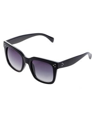 Очки солнцезащитные Bijoux Land. Цвет: черный