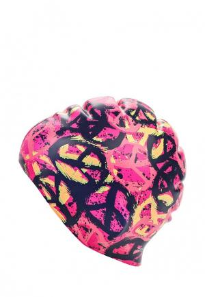 Шапочка для плавания TYR. Цвет: розовый