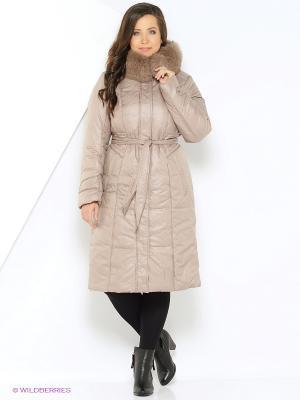 Пальто OSTRICH. Цвет: темно-бежевый