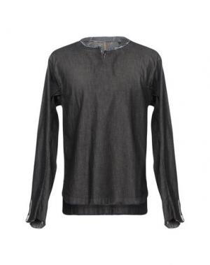 Джинсовая рубашка DNL. Цвет: серый