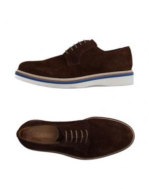 Обувь на шнурках GOLD BROTHERS. Цвет: какао