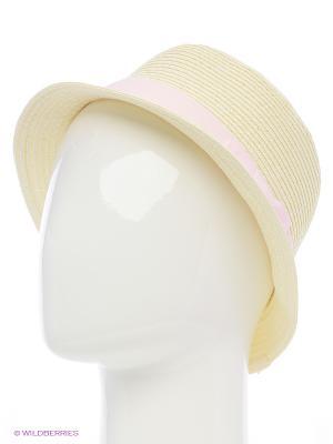Шляпа с узкими полями PlayToday. Цвет: бежевый