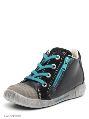 Ботинки ECCO. Цвет: черный, серый