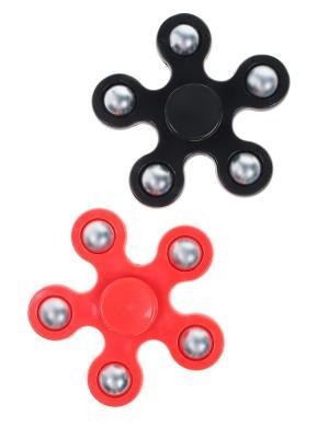 Спиннер - 2 шт. Olere. Цвет: черный, красный, серебристый
