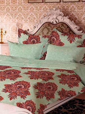 Комплект постельного белья Геральдина Волшебная ночь. Цвет: светло-зеленый