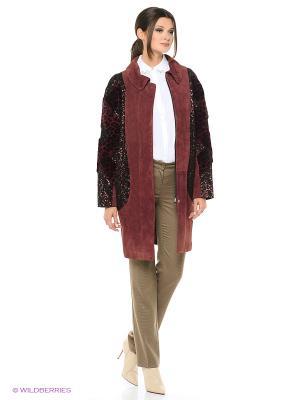 Длинное пальто MONDIAL. Цвет: темно-красный