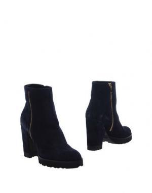 Полусапоги и высокие ботинки ROBERTO FESTA. Цвет: темно-синий