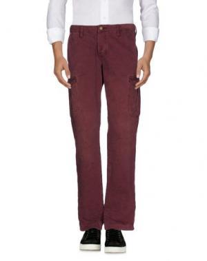 Джинсовые брюки ARMANI JEANS. Цвет: красно-коричневый