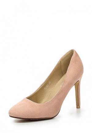 Туфли Exquily. Цвет: розовый
