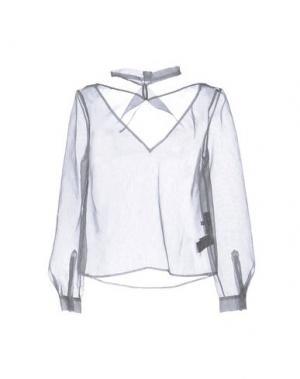 Блузка IRIS VAN HERPEN. Цвет: стальной серый