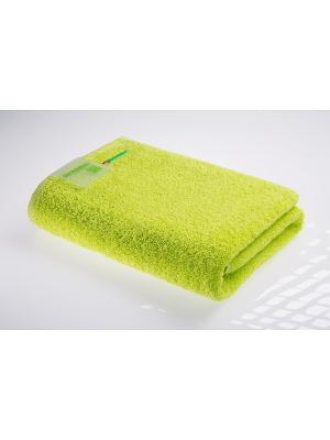Полотенце махровое Re:Volution SPAOLLO. Цвет: зеленый