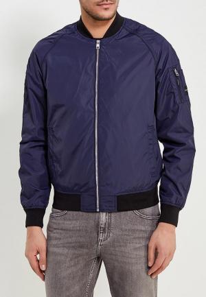 Ветровка Calvin Klein Jeans. Цвет: синий