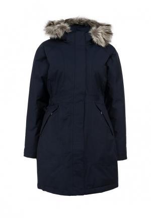 Пуховик North Face. Цвет: синий