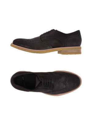 Обувь на шнурках ROLANDO STURLINI. Цвет: темно-коричневый