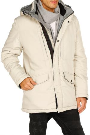 Куртка SNOWIMAGE. Цвет: бежевый