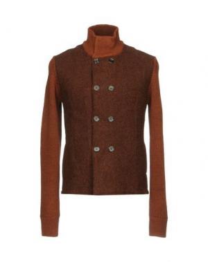 Куртка VNECK. Цвет: какао