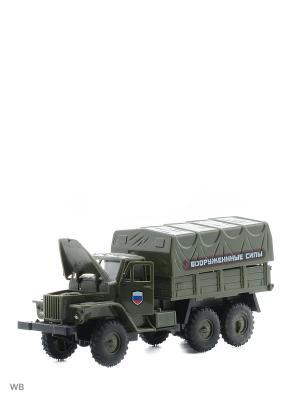 Машина грузовик тентованный кузов Drift. Цвет: зеленый