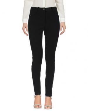 Повседневные брюки ELISABETTA FRANCHI 24 ORE. Цвет: черный