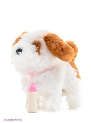 Интерактивный щенок My Friends Играем вместе. Цвет: белый, коричневый