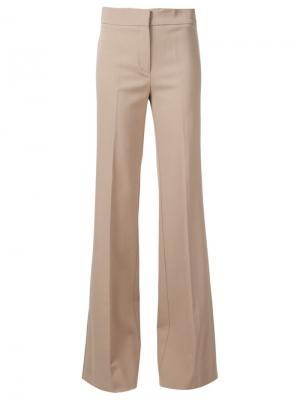 Широкие брюки строгого кроя Derek Lam. Цвет: телесный