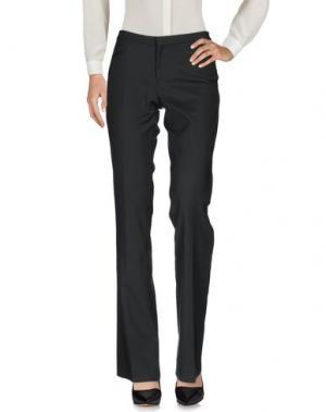 Повседневные брюки PT0W. Цвет: стальной серый