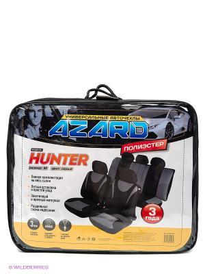 Чехлы универсальные Hunter AZARD. Цвет: серый