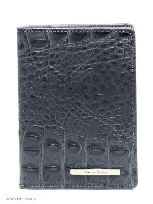 Обложка для паспорта Gianni Conti. Цвет: серый
