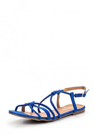 Сандалии Style Shoes. Цвет: синий
