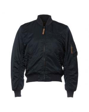 Куртка DEUS EX MACHINA. Цвет: темно-синий