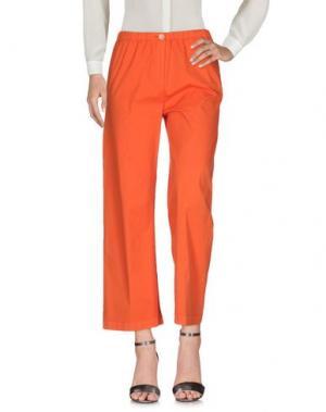 Повседневные брюки QL2 QUELLEDUE. Цвет: оранжевый