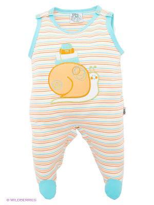 Ползунки FS Confeccoes. Цвет: белый, голубой, оранжевый