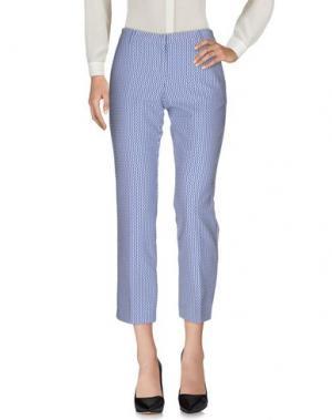 Повседневные брюки ROOM 52. Цвет: синий