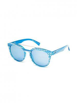 Солнцезащитные очки TM 554S 04 Opposit. Цвет: голубой