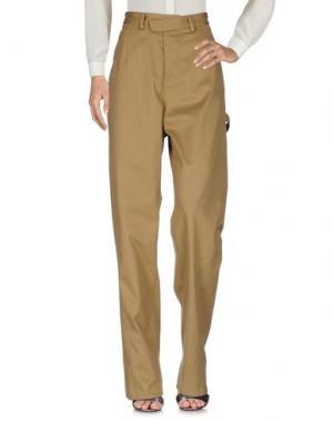 Повседневные брюки ROSIE ASSOULIN. Цвет: зеленый-милитари