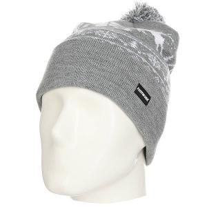 Шапка  Pom-Pon Xmas Hat Light Gray Melange Footwork. Цвет: серый,белый