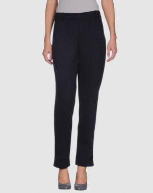 Повседневные брюки AINOS. Цвет: темно-синий